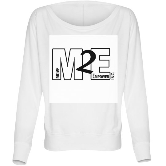 Move To Empower Ladies Long Sleeve Off The Shoulder