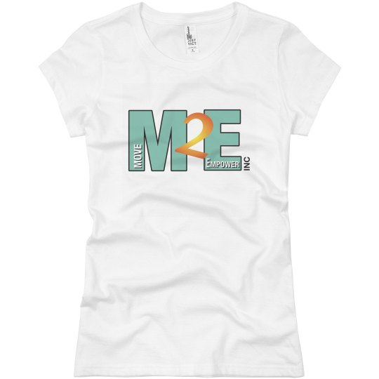 Move To Empower Ladies Slim Fit Basic Promo Jersey Tee