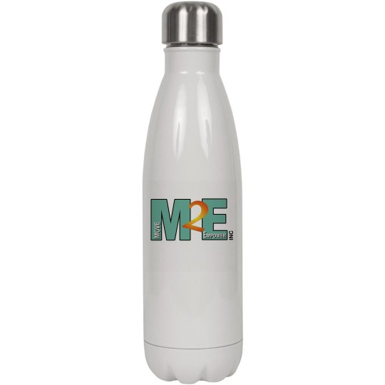 Move To Empower Logo Water Bottle