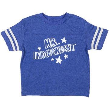 Mr. Independent Toddler Tee