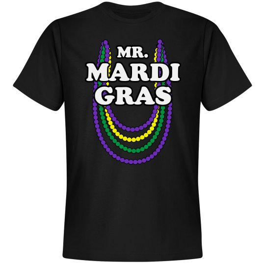 Mr. Mardi Gras