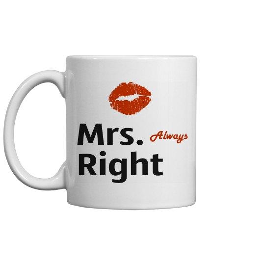 Mrs Always Right Couple