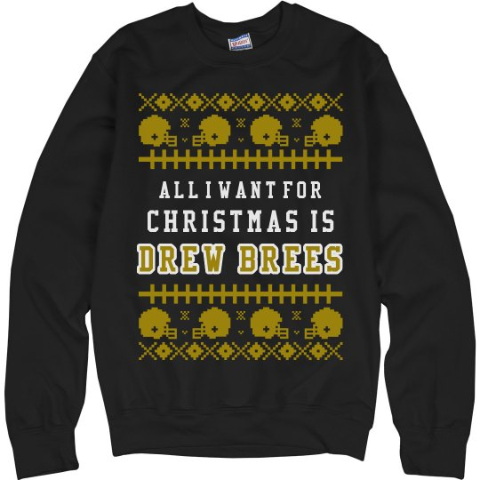 Mrs. Brees Ugly Sweater