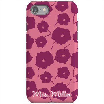 Mrs. Custom iPhone Case