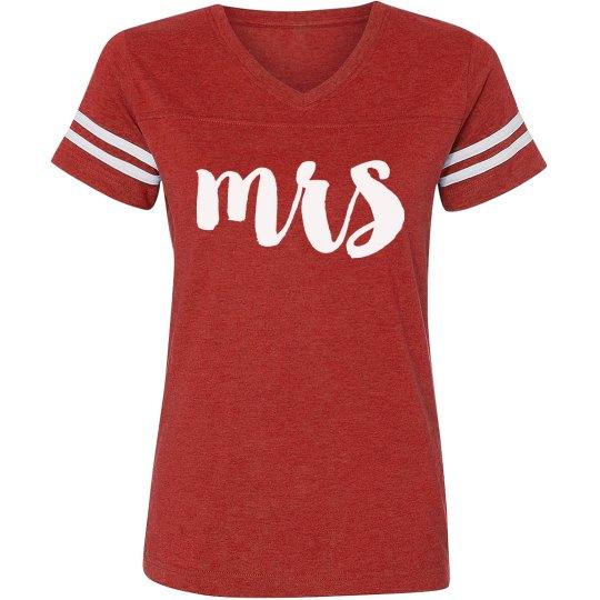 Mrs Football Player