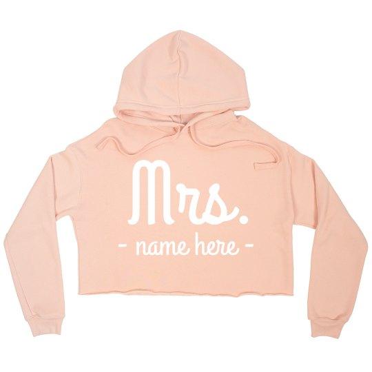 Mrs. Newlywed Custom Crop
