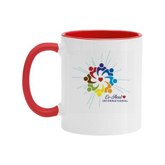 """Mug Multicolor """"Love Heals"""""""