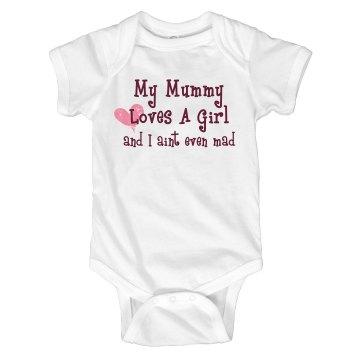 Mummy Loves A Girl Onesie