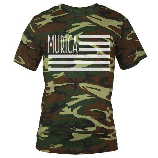'Murican Flag USA Patriot Camo