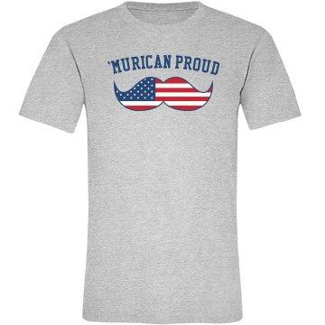 'Murican Proud Mustache