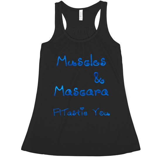 Muscles & Mascara (metallic)