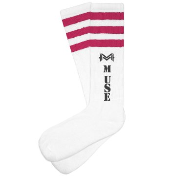 Muse High Rise Socks