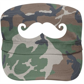 Mustache Fashion Cap