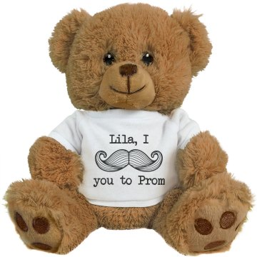 Mustache Prom Bear