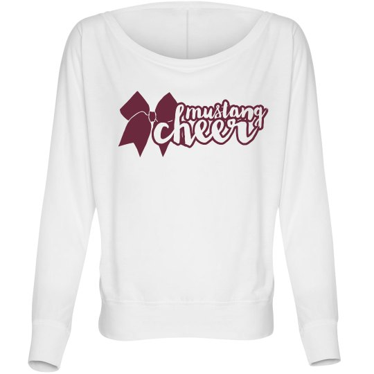 Mustang Cheer Long Sleeve