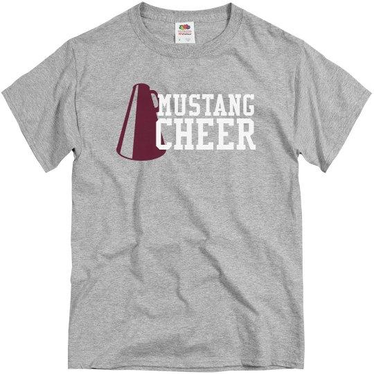 Mustang Cheer T-shirt