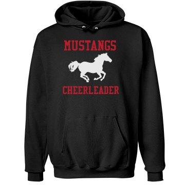 Mustangs Cheer Hoodie