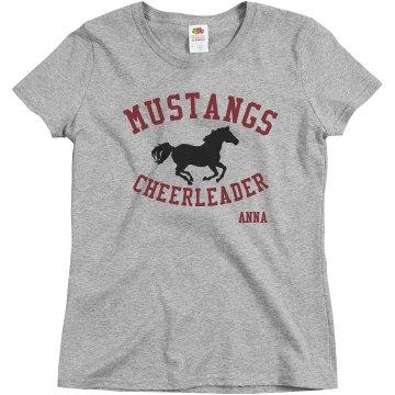 Mustangs Cheerleader