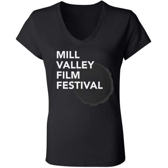 MVFF Ladies Slim Fit V-Neck Jersey Tee