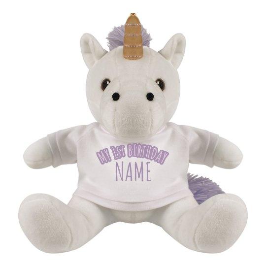 My 1st Birthday Custom Unicorn