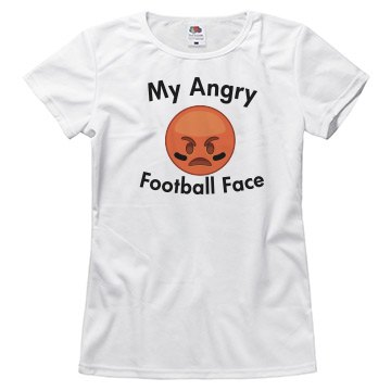 My Angry Football Face T-shirt