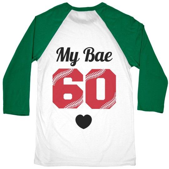 My Bae Baseball Player