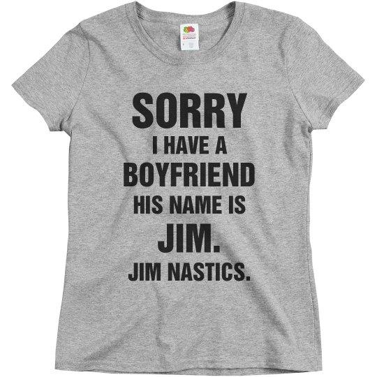 My Boyfriend Is Jim Gymnastics
