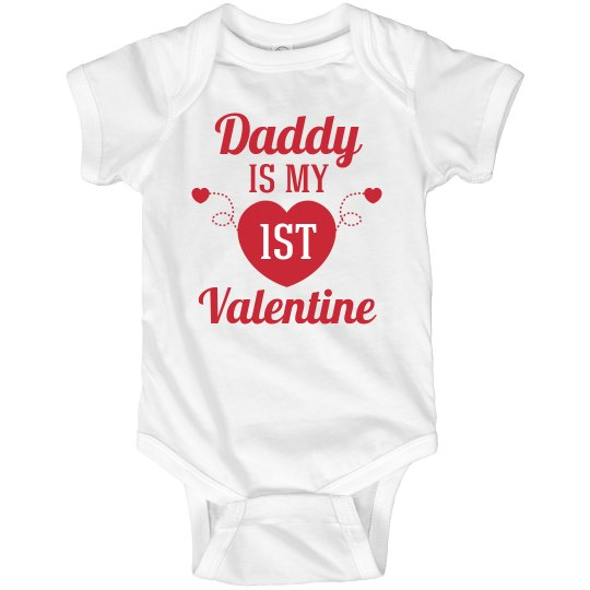 My First Valentine Bodysuit