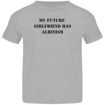 My Future Girlfriend Has Albinism- Team Louise