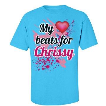My heart beats...Chrissy