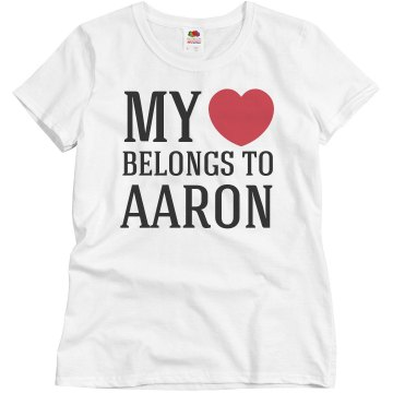 My heart belongs to Aaron