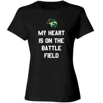 My Heart Is On The Battlefield