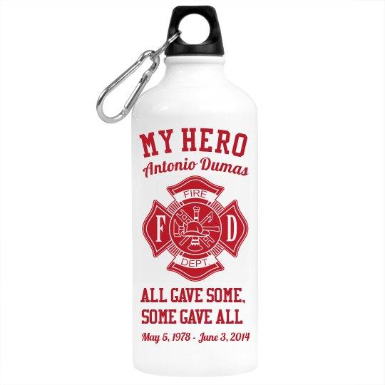 My Hero Memory Water Bottle