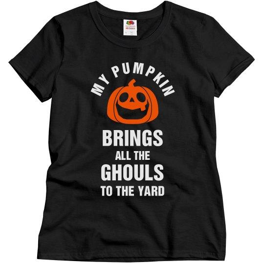 My Pumpkin Brings The Ghouls