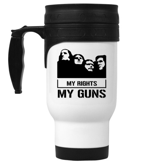My Rights My Guns Travel Mug