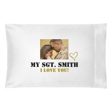My Sgt. Pillow