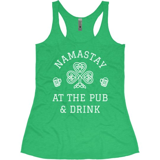 Namastay At The Pub St Patricks Day