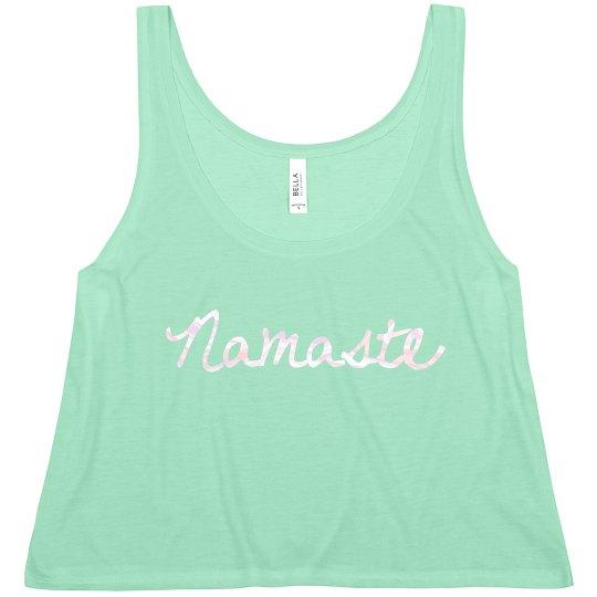 Namaste Crop Top