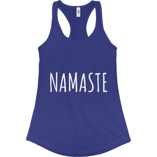 Namaste Tank Blue