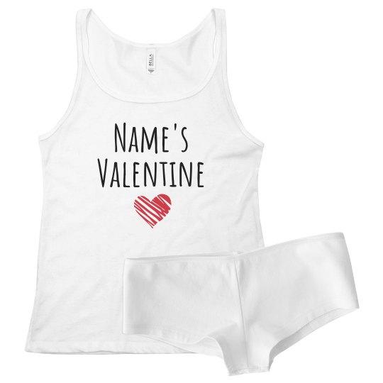 Name Here's Valentine Unique Gift