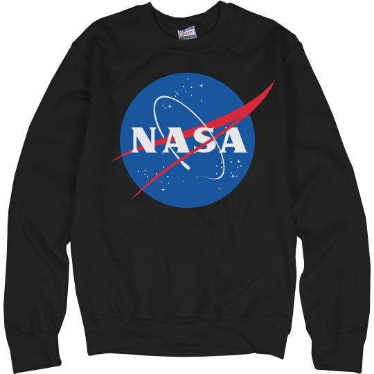 NASA Logo Sweater