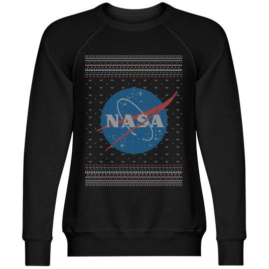 NASA Science Nerd Christmas Sweater