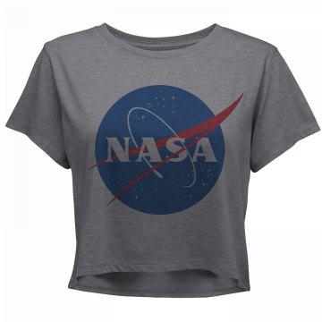 NASA Vintage Science Crop Top