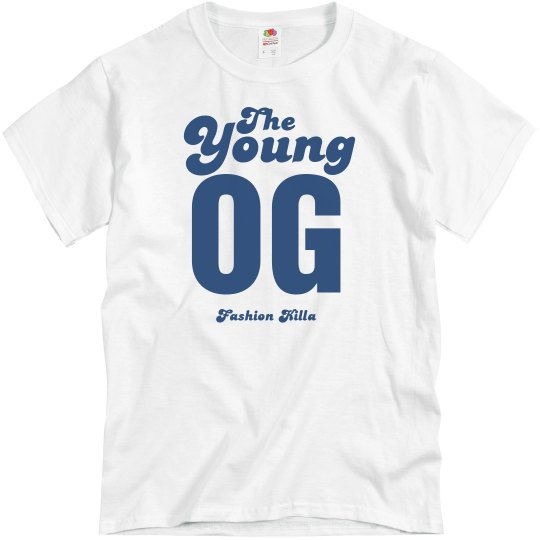 Natural Toned Young OG Tee