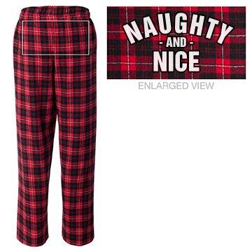 Naughty & Nice Pajamas