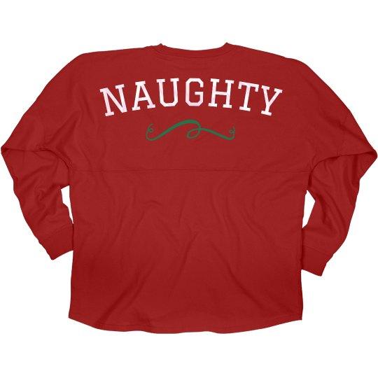Naughty Best Friend Hooded Jersey
