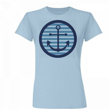 Nautical Anchor Tee
