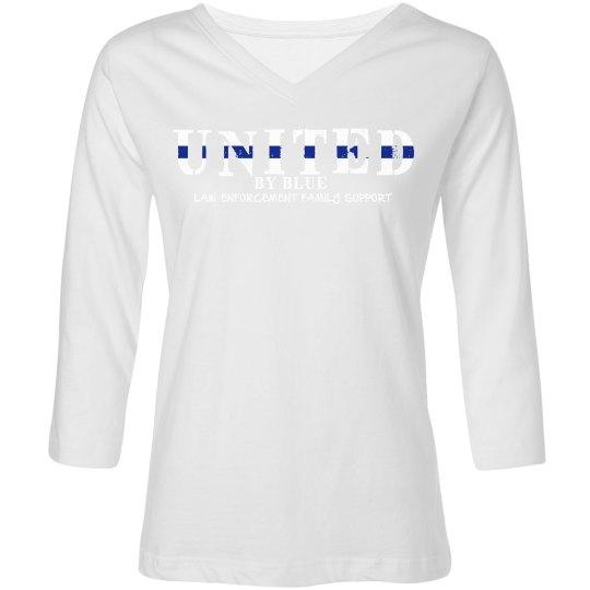 Navy 3/4 sleeve United