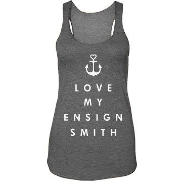 Navy Ensign's Girlfriend