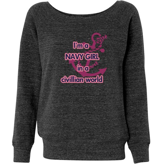 Navy Girl Sweater